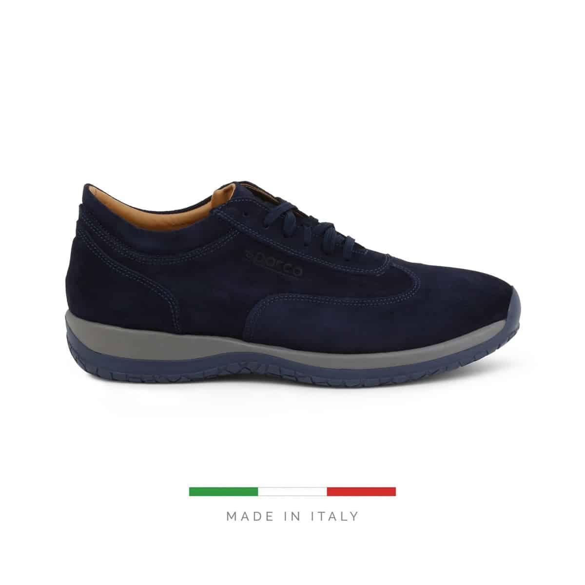 Sapatos Sparco IMOLA GP1 Camurça Azul