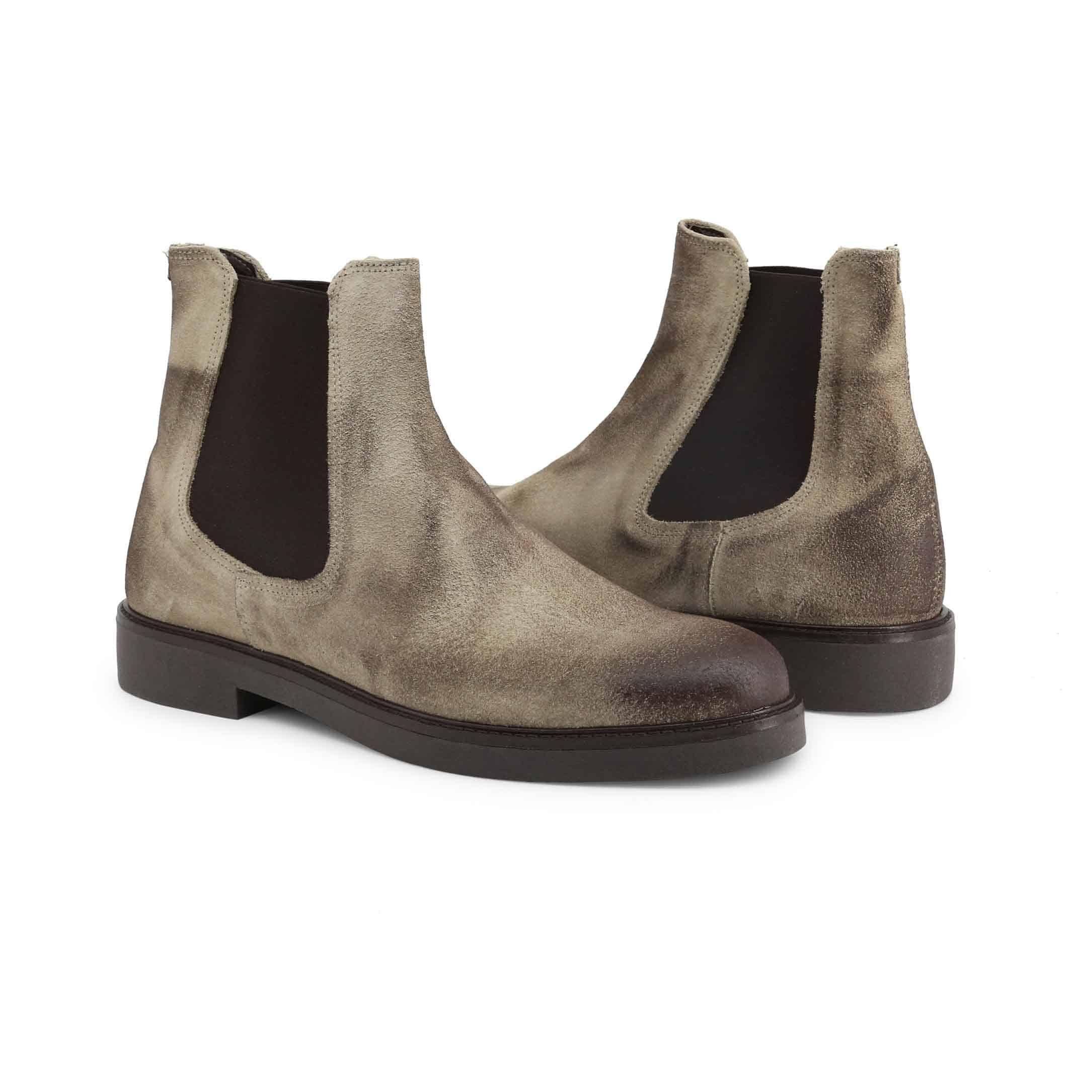 Schuhe Guido Bassi – 7081_CAMOSCIO – Braun