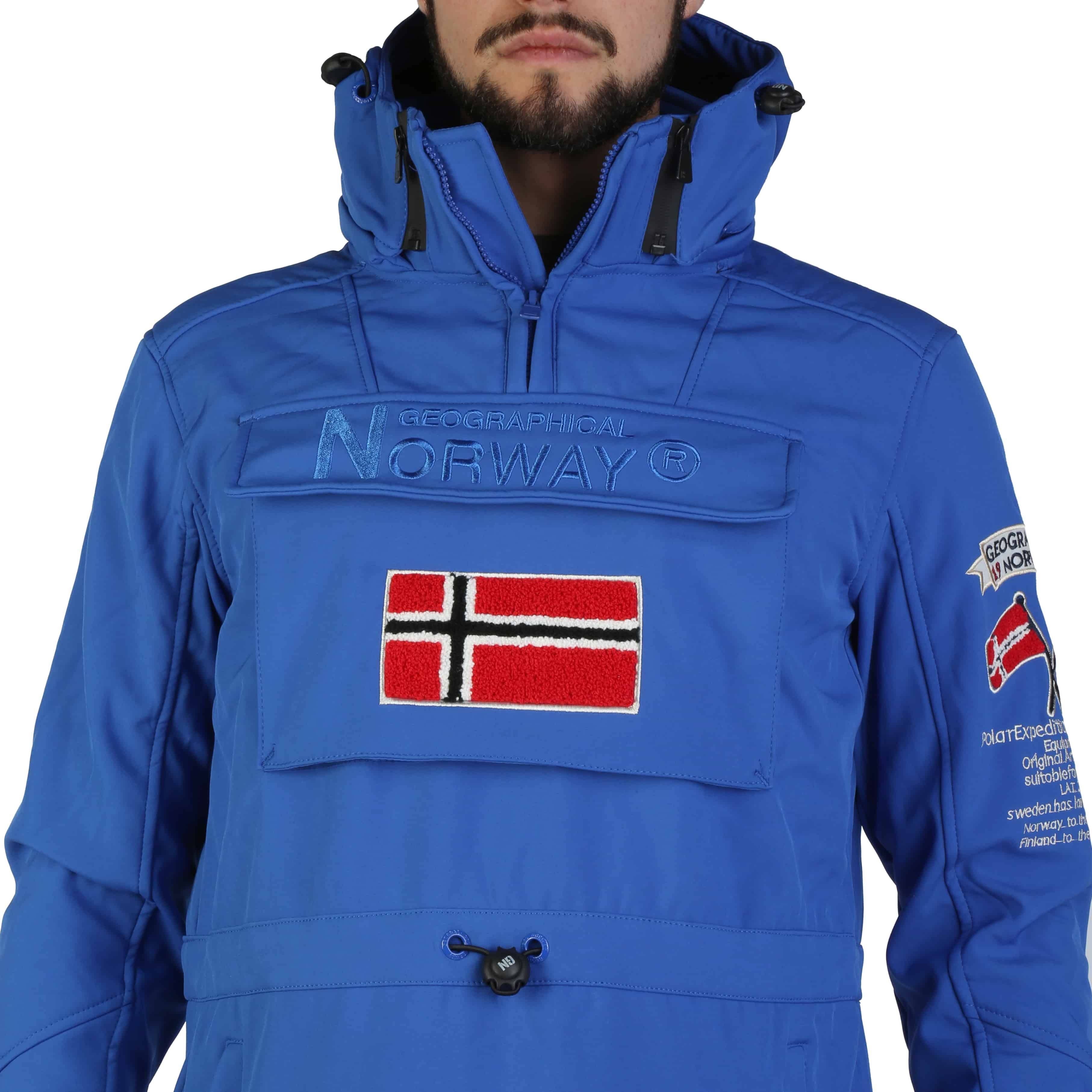 Geographical Norway – Target_man – Blauw Designeritems.nl