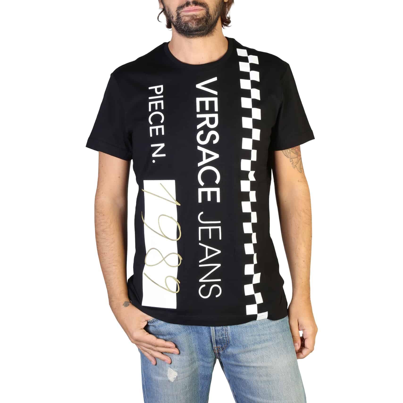 T-shirt męski VERSACE JEANS B3GTB74B