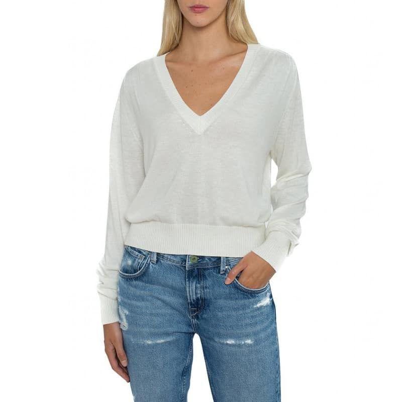 Pepe Jeans – MARTINA_PL701731 – Blanco
