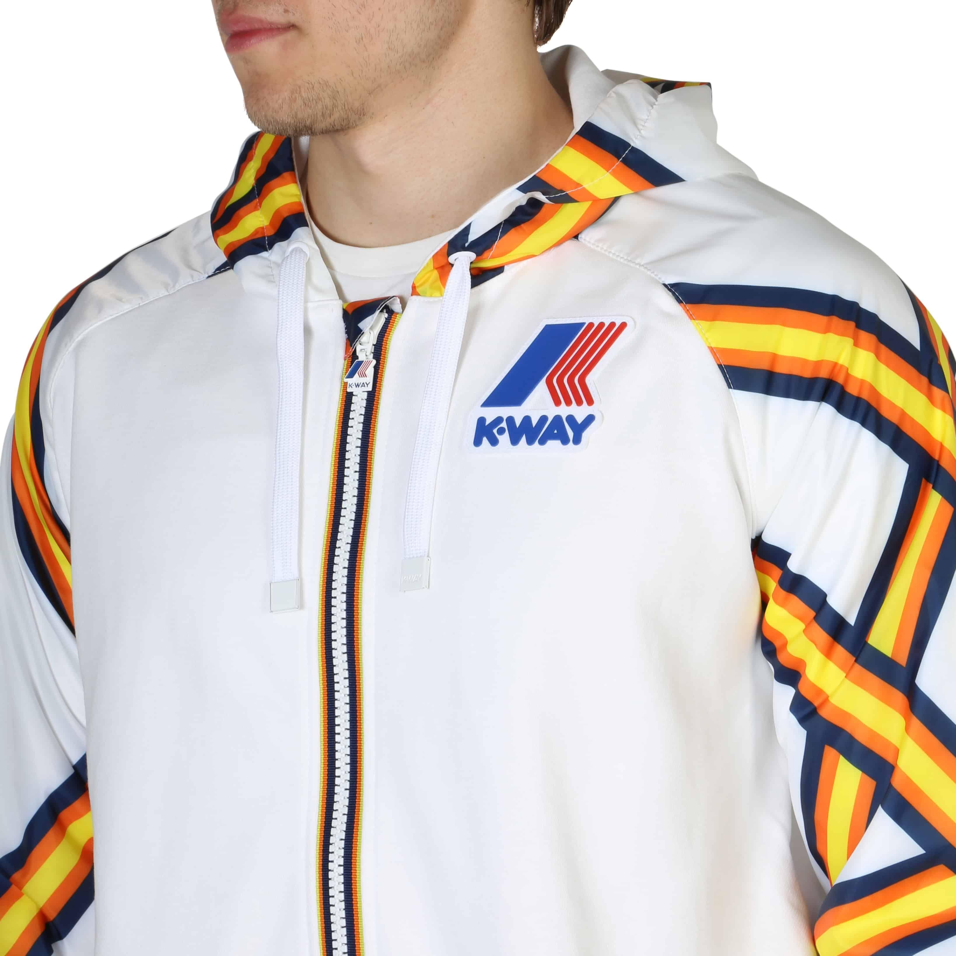 Bekleidung K-Way – K009E60 – Weiß