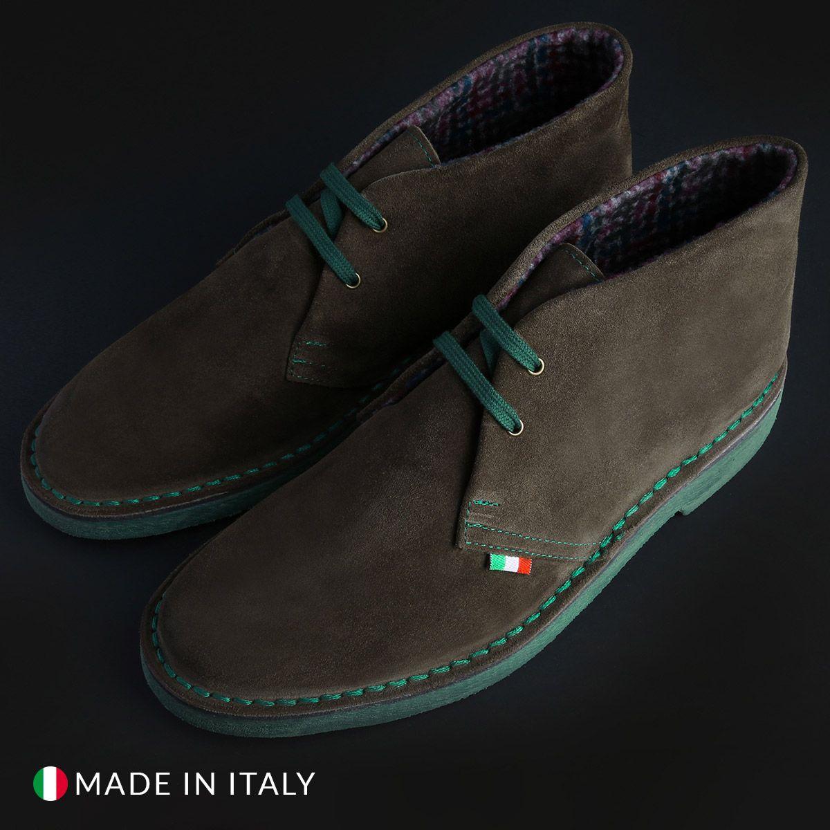 Schnürschuhe Made in Italia – FLORENT_VERNICE – Schwarz