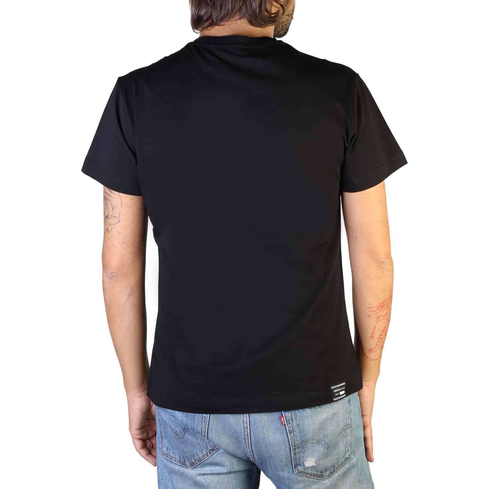 Versace Jeans Man T-shirt Black