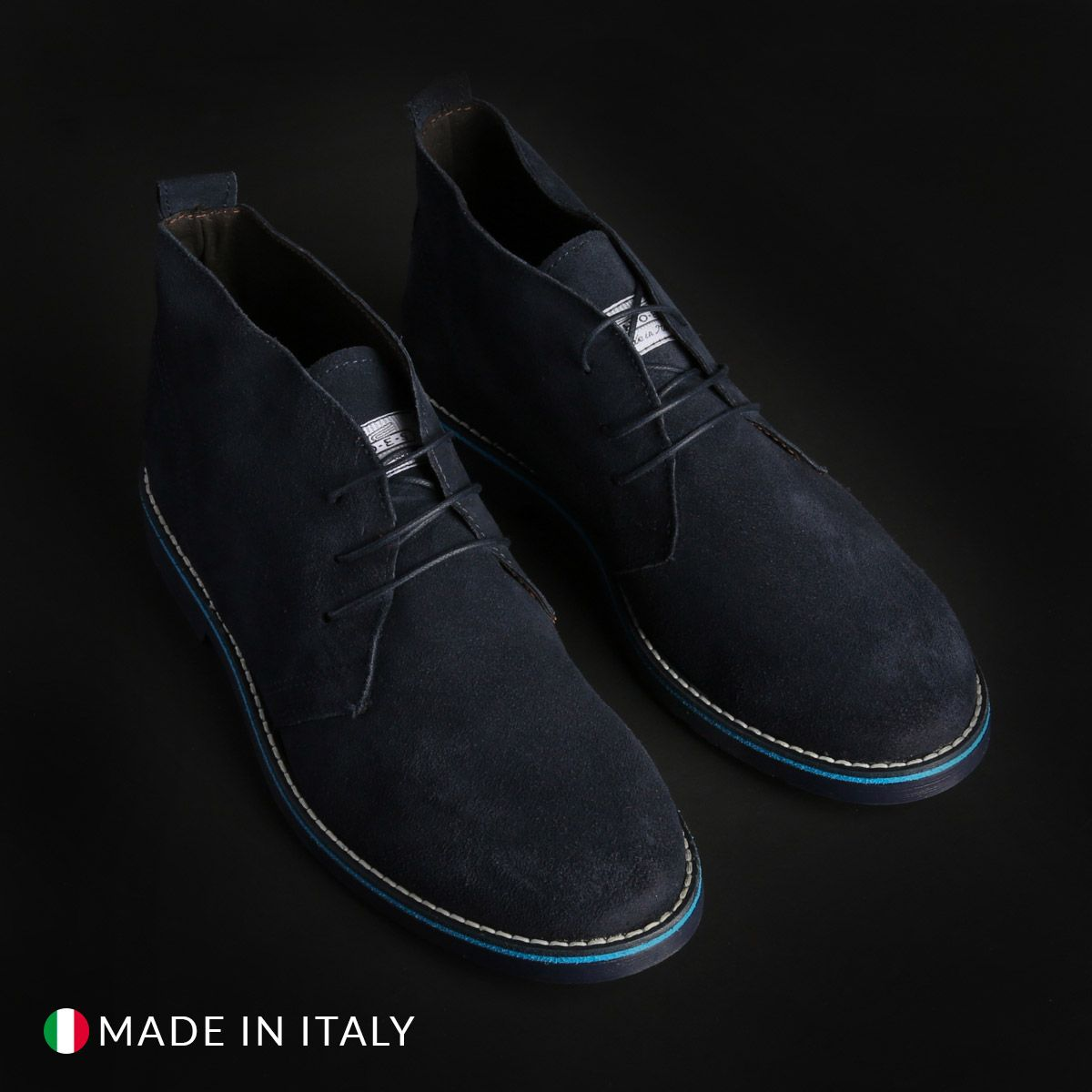 Chaussures à lacets Marco Nils – 233_CAMOSCIO