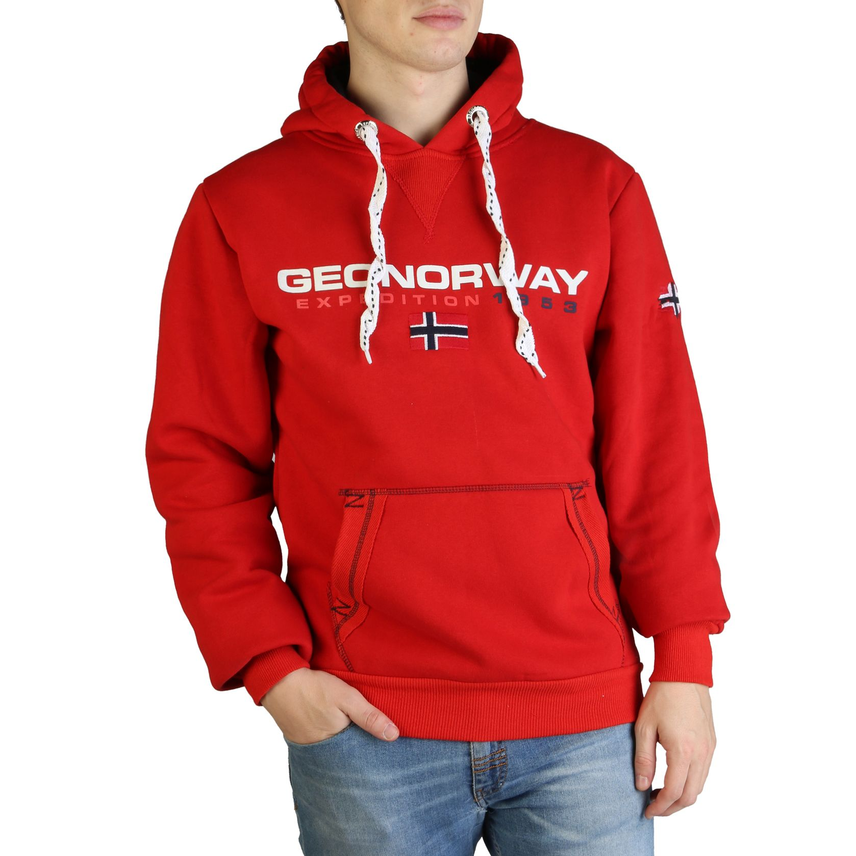 Geographical Norway – Golivier_man – Rood Designeritems.nl