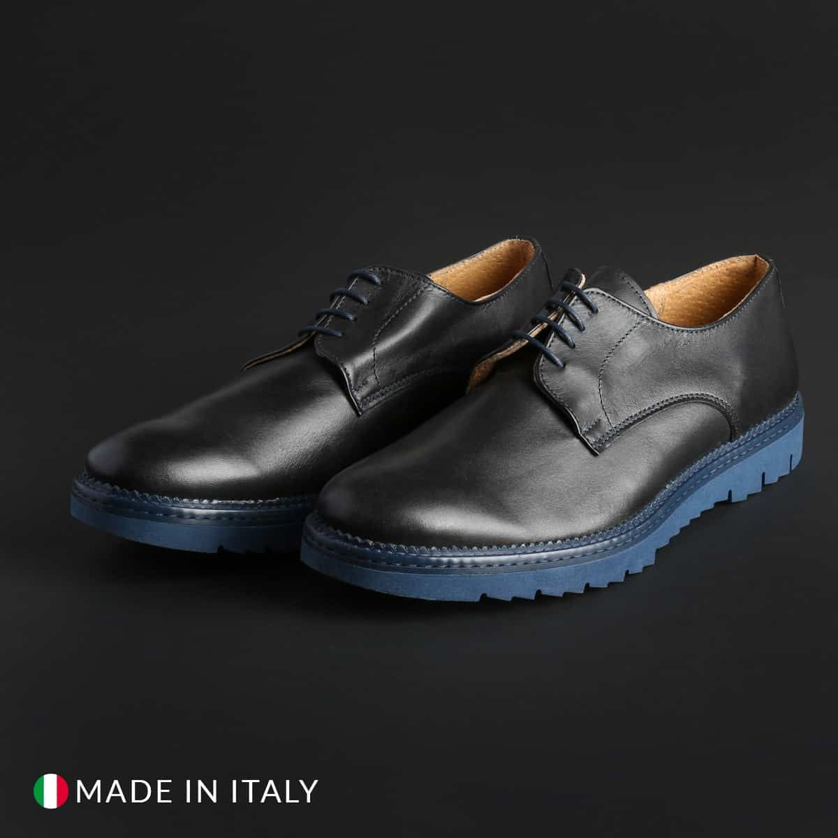 Italian Eagle – DERBY_L_VITELLO – Blu