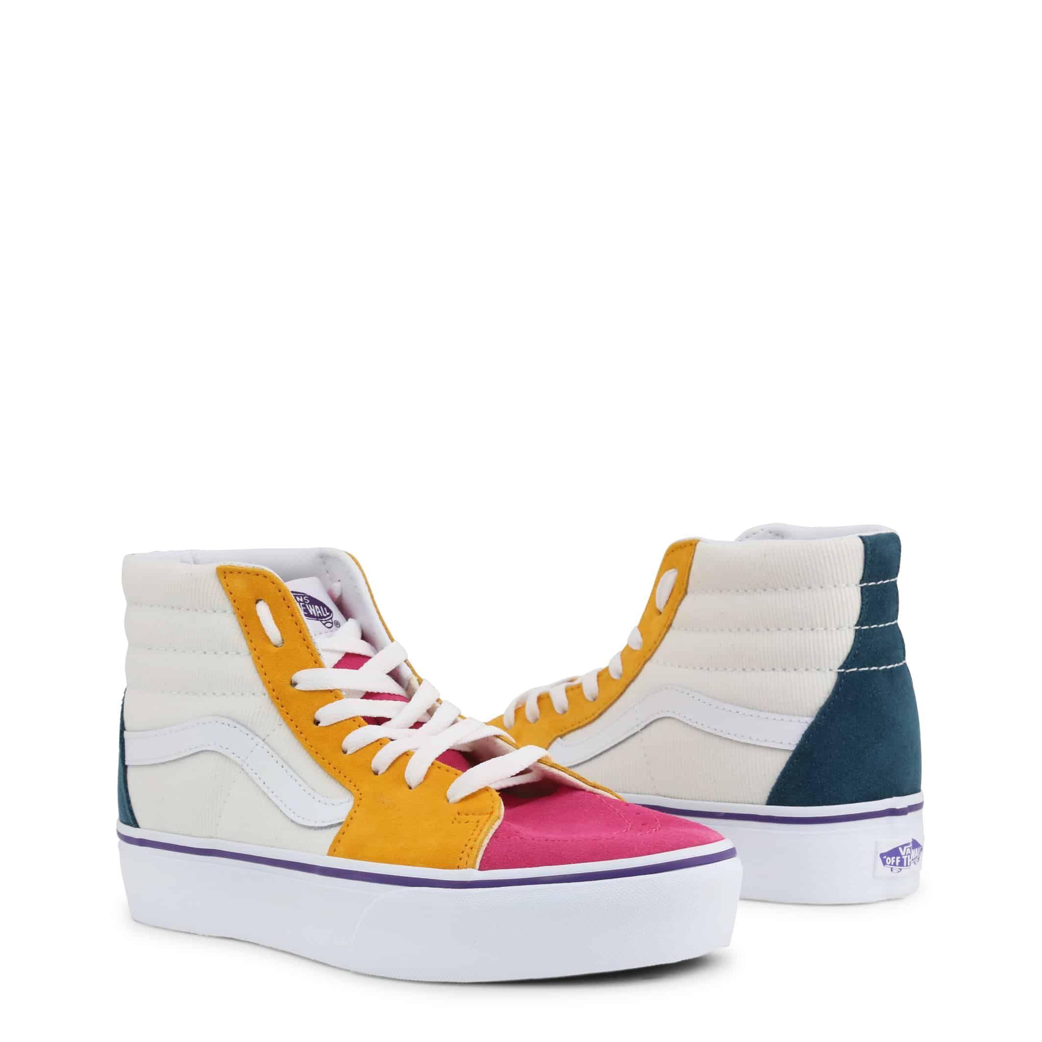 Schuhe Vans – SK8-HIPLATFORM – Weiß