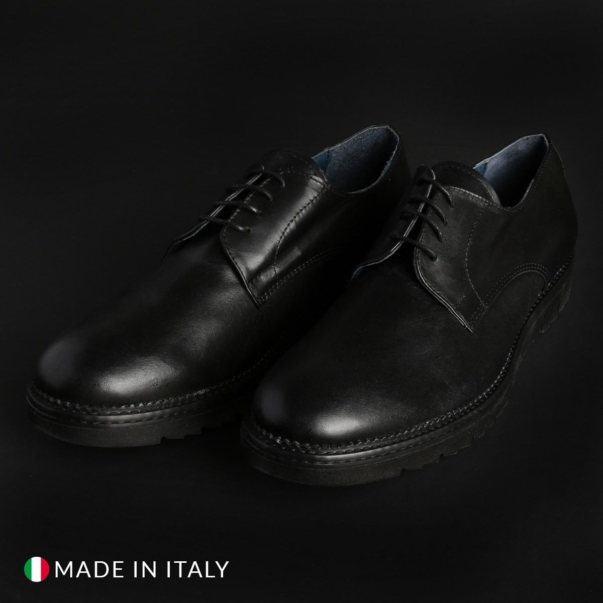 Italian Eagle – DERBY_L_VITELLO – Nero