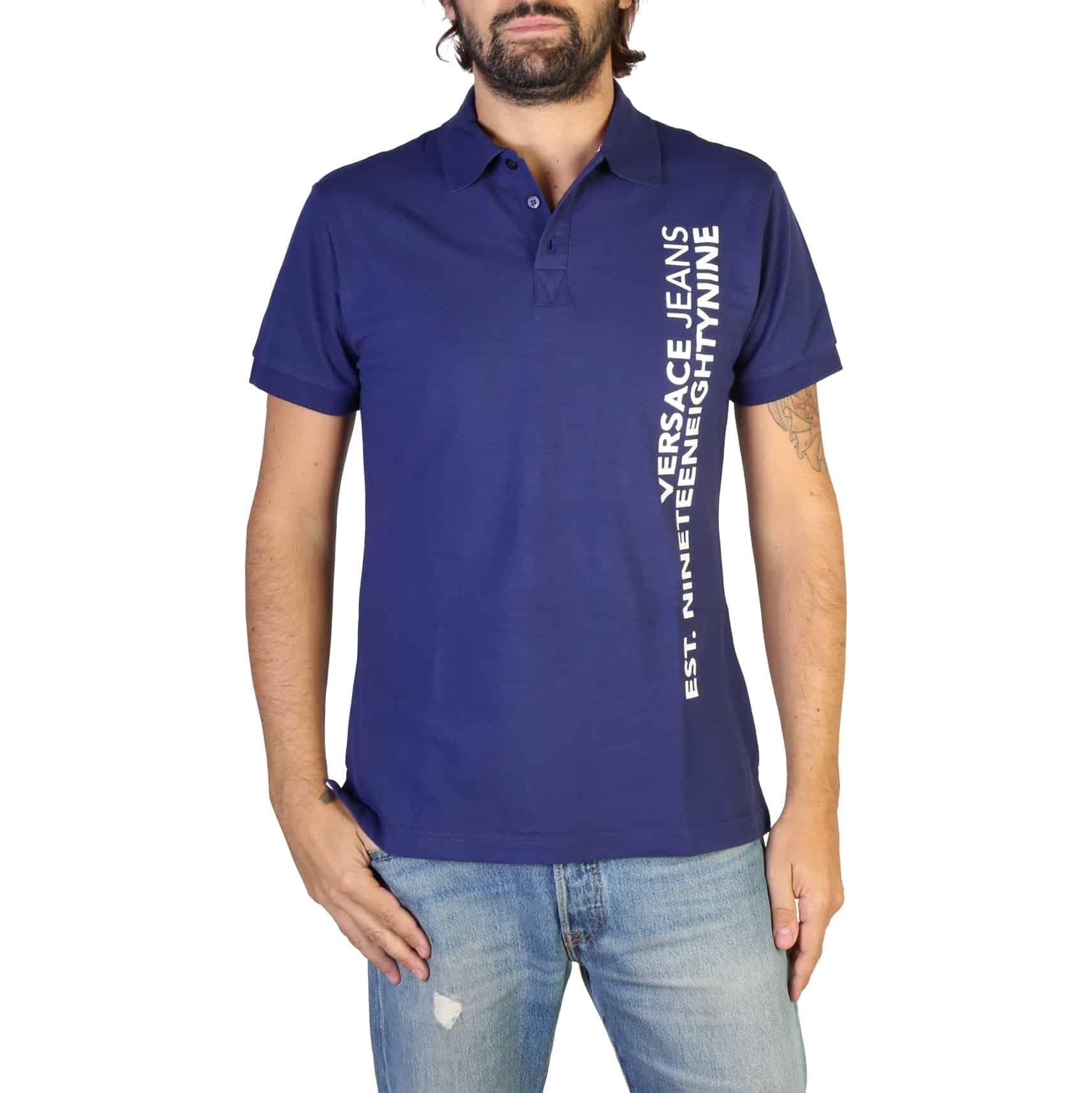 Koszulka polo męska VERSACE JEANS B3GTB7P6
