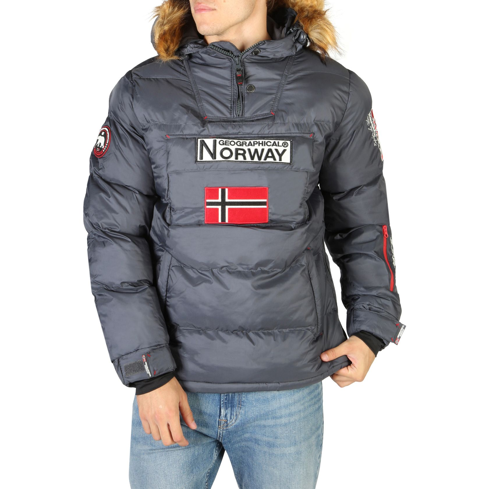 Geographical Norway – Bilboquet Man Grey